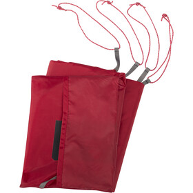 MSR Universal Footprint 3 Person Large red